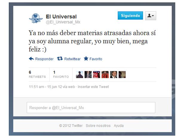 fail el universal