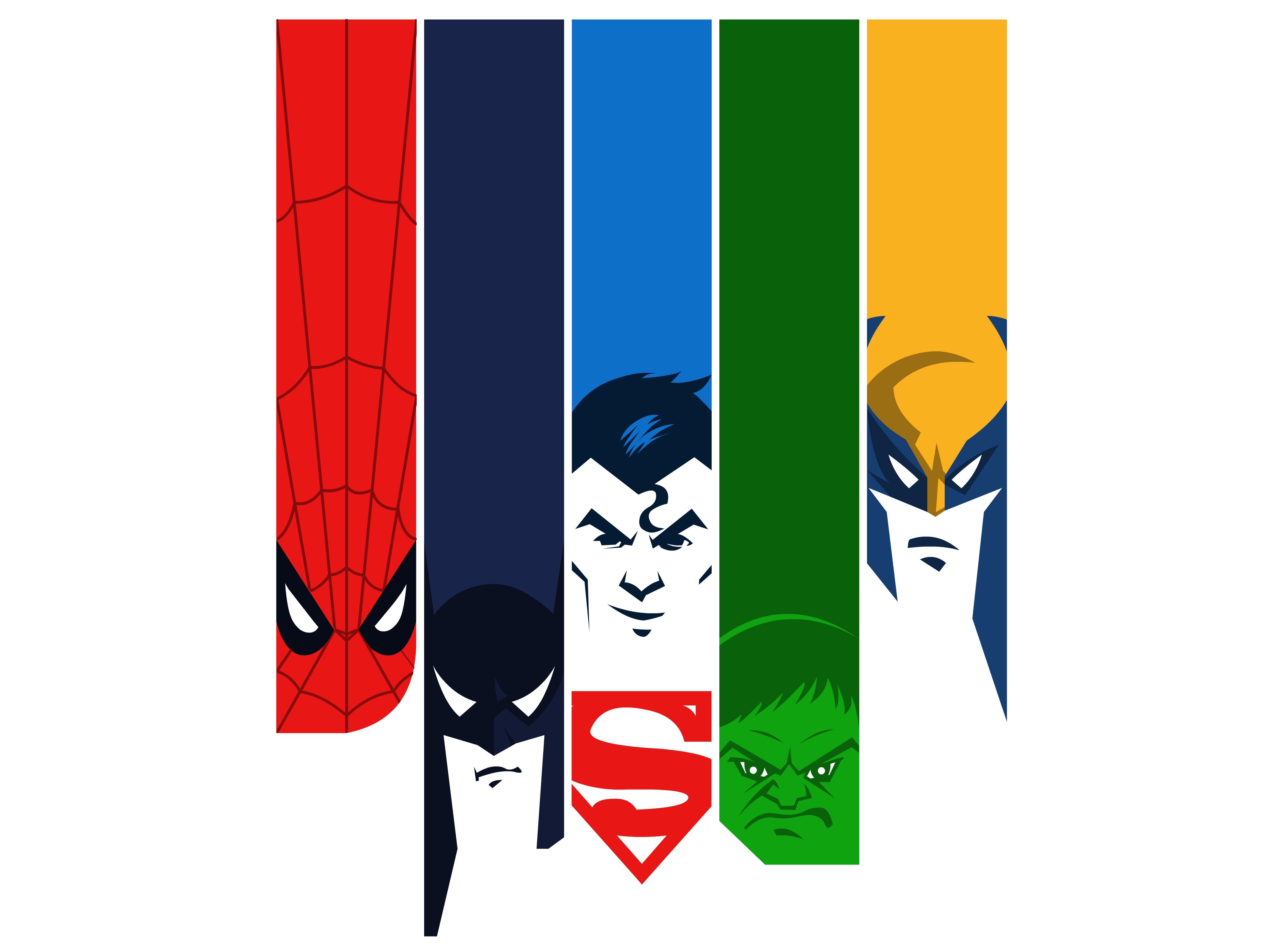 http://naazunutty.deviantart.com/art/My-favorite-Superheroes-329196179